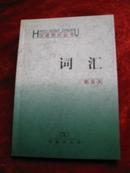 汉语知识丛书/词汇