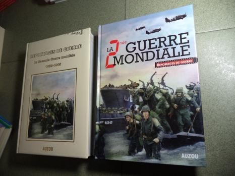 REPORTAGES DE GUERRE La Seconde Guerre mondiale 1939-1045 图文本 2本外文书