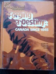 英文原版《创造一个命运:加拿大1945》(自译,以书影为准)