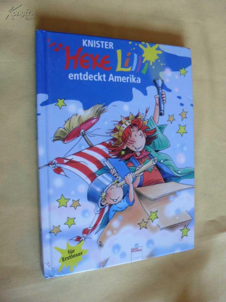 德文原版      Der Bücherbär:        Hexe Lilli für Erstleser:  Hexe Lilli entdeckt Amerika
