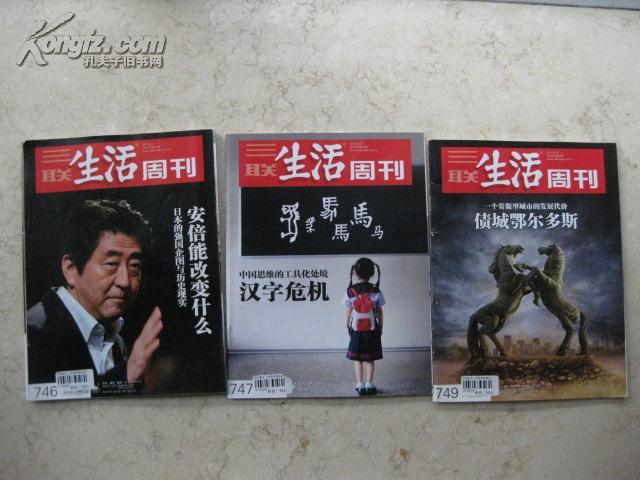 三联生活周刊2013-32【重点--汉字危机】