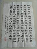 张良平:书法:苏轼《水调歌头》