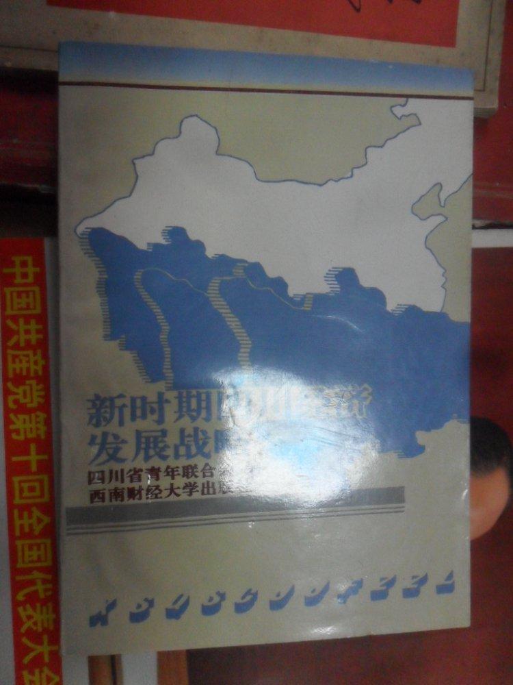 新时期四川经济发展战略(32开 96年一版一印 仅印1100册)