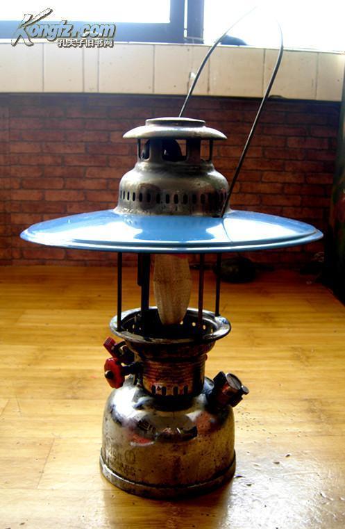 """【""""鐵錨""""商標】ANCHOR N0.950 500 C.P.五十年代戏台上的汽灯,俗称""""气死天灯""""(有原装防雨罩)"""