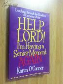 Help,Lord! I\m Having a Senior Moment - Again!【上帝救命我得了老年失忆症,凯伦·欧康纳,英文原版】