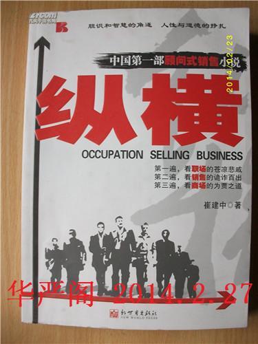 纵横-中国第一部顾问式销售小说