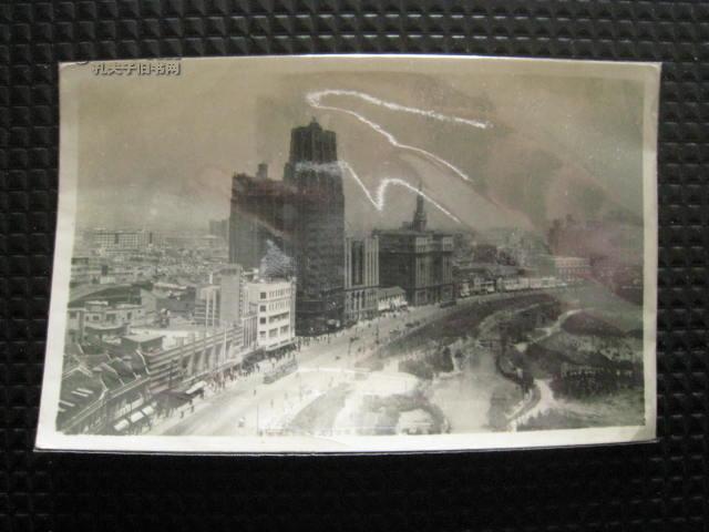 50-60年代初上海南京路全景(城市老照片)