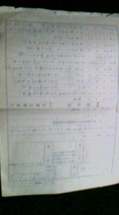 六十年代东北地区个人履历书(三份)