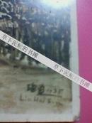 刘海粟的签名照片(英国海德公园油画1935年刘海粟照片)