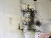 【铁牍精舍】【名家版画】著名版画家张岚军2005年版画作品《行者日记》3/5