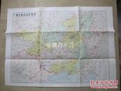 广西壮族自治区地图  【文革时期】