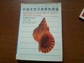 中国水生贝类原色图鉴 硬精装+书衣 一版一印 铜版纸  多图