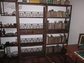 红木书橱一对,鸡翅木,接受本城交易或者上门取货