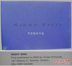 《夜的巡礼》Night Vigil加拿大籍华裔摄影师李志芳写真集画册