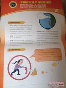 全国安全生产月宣传挂图 消防安全知识 4张