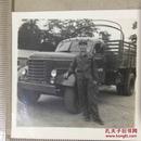 原版老照片`五角星军帽军人`军车系列8`6*6