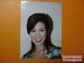 明星照片1张18x13cm-【余诗曼】-杂志社遗漏出来的