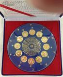 纪念章---转盘式镀金精制十二生肖纪念章