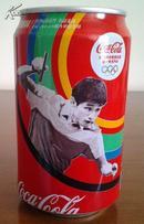 2012 伦敦奥运会唯一专用汽水 乒乓名将张继科款 空可乐罐 【限量纪念版】
