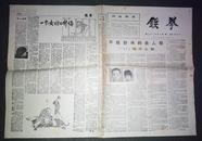 老报纸(铁拳)1985年第二期(试刊)(3号箱)
