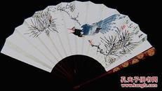 中国书法家协会会员/国家一级书法师@许@墨@双面书画成扇一一花鸟篇,他的书法自然天成,画又灵气十足,其作品贵在艺术风格及创作心境的真诚……