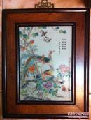 花鸟瓷板挂屏(和库)