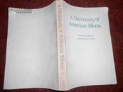 英文书:美国成语词典  修订本