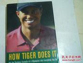 英文原版 精装 How Tiger Does It 老虎伍兹是如何成功的