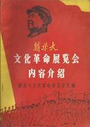 文革专刊【新北大文化革命展览会内容介绍】有毛·江·陈·康等照片