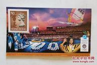 香港邮票1996年李丽珊奥运金牌通用小型张(11号)