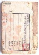 黄岩县志卷六卷七(民国初影印本)