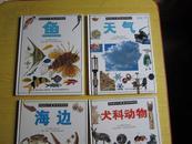 目击者丛书·自然博物馆:5天气、6鱼、7犬科动物、8海边(大16开精装本,铜版彩印,4册合售)