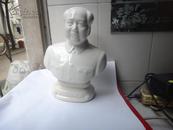 文革开片瓷,毛主席坐像 、品好