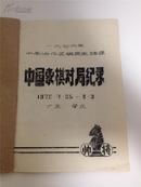 1976年中南协作区棋类邀请赛中国象棋对局记录