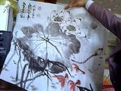 著名陶瓷艺术家 冯祥国画3幅 (5平尺)