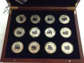纪念章---十二虎图纪念银章
