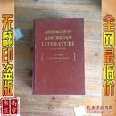 英文原版 包挂刷 Anthology of American Literature thire edition volume 1 美国文学之选 第三版第一卷  1985年 1945页