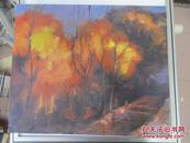 秀? 油画作品一幅 尺寸60*50厘米