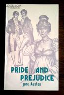 Pride and  Prejudice 傲慢与偏见【旧藏书】英文版