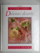 英文原版西餐食谱:DELICIOU DESSERTS (美味的甜点)