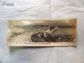万里长江第一桥:武汉长江大桥·汉阳全景(五六十年代老照片,八品)