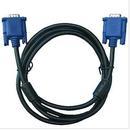 山泽(SAMZHE)VM-1015 高清双磁环蓝头VGA线 3+6线芯  针/针1.5米 电脑投影仪显示器视频线数据信号线