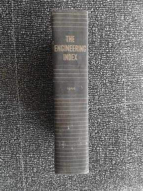 THE ENGINEERING INDEX 1944(工程索引 1944)