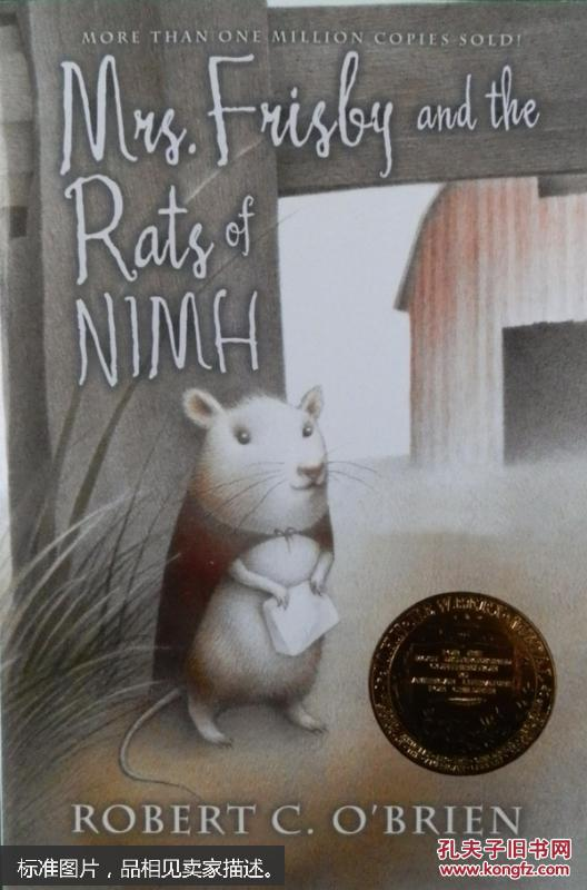 Mrs. Frisby and the Rats of Nimh  弗里斯比夫人和尼姆老鼠们 [平装] [8岁及以上]   内容无笔记