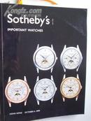 2006 年《苏富比: 手表》拍卖.共 260页