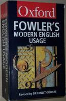 ◇英文原版书 Fowler\s Modern English Usage (2nd Edition)