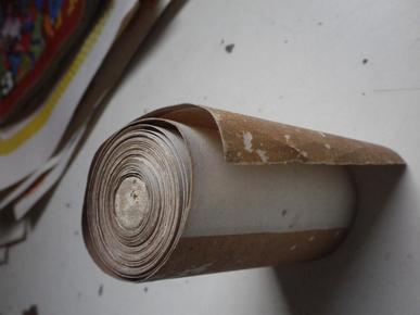 赵宏本的秘藏长卷   水浒108将  353x9公分  人物画 印刷品手卷