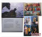 1988年版中国现代出版社《西游记》一版一印明信片杨洁版电视剧西游记版,唐僧封套+10枚大全;