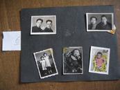 老照片:五六十年代合影照片+儿童照片(5张)