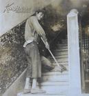 民国老照片:民国——扫地男,很有特色